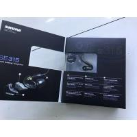 Cheap Shure SE315-K Sound Isolating In-Ear Stereo Earphones BLACK *BRAND NEW* made in chiangrgheadsets.com for sale