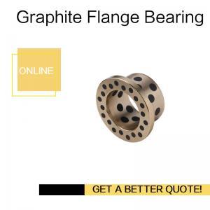 China C86300 Manganese Bronze Bushing Graphite Plugs Inch Size   Sleeve Bushing for Hydro Mechanical Equipments on sale