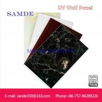 Cheap waterproof bathroom wall panels with marble look  2440*1220*6/8/9mm for sale