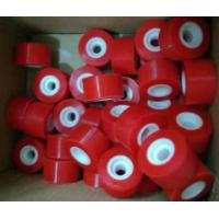 Cheap solid rubber wheel, PU wheels all types for glass machine wholesale