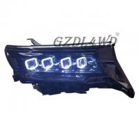 Buy cheap Offroad Pickup Buggati Style 4x4 Driving Lights / Angel Eye Headlights For Prado from wholesalers