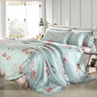 Cheap Customized Pieces Home Bedroom Bedding Sets , Flower Printed Bedding Sets for sale
