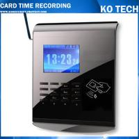 China KO-M10C Offline/Online Network Punch Card Time Clock Type on sale