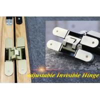 China antique brass plating 180 degree hinge adjustable hinges concealed door hinge on sale