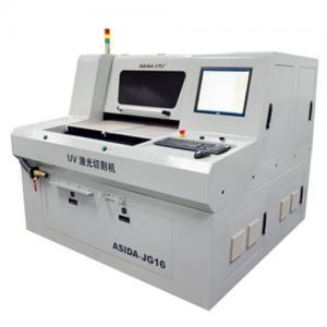 China Ceramic / Glass UV Laser Cutting Machine Precise Control JG18 , Cutting Circuit Board on sale