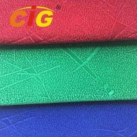 Cheap 100% Polyester  148cm width and 165gsm Flock Fabric For Seat Cover for sale