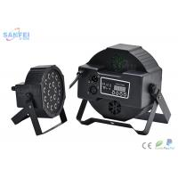 Buy cheap DMX 18 Pcs *1W RGB LED Flat Par Light For Stage Party With Plastic Material from wholesalers