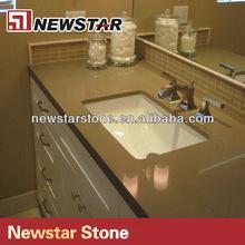 Cheap Newstar high quality quartz bathroom vanity countertops for sale