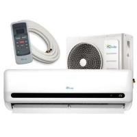Cheap 48V DC 12000 Btu Ductless Air Conditioner , Low Energy Loss Split Type Ac Unit for sale