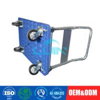 Buy cheap Blue Foldable Standard Platform Hand Trolley for transport 300kg from wholesalers