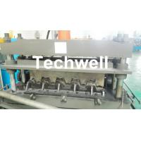 Cheap 0.8-1.5mm Thickness Galvanized Steel Building Material High Speed Profile Deck Floor Cold Roll Forming Machine for sale