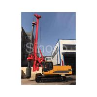 Cheap TR100 Rotary Hydraulic Drilling Rig 100 KN.M Self - Erecting Rig Electronic Control wholesale