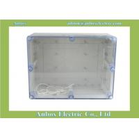 Cheap 320*240*140mm ip66 Large Plastic Project Enclosure - Weatherproof with Clear Top for sale