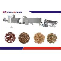 Buy cheap Extrusion Dry Wet Dog Pet Food Making Machine Manufacturing equipment from wholesalers