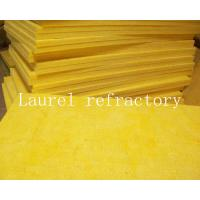 Cheap Glass Wool Board Insulation Refractory 50mm x 1.2M x15M with Aluminium Foil for sale