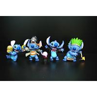 Cheap Magician Style Lilo And Stitch Action Figures With Disney Logo 8*7*5c for sale