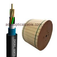 Cheap Electrical Hybrid Fiber Optic Cable GDTS Stranded Loose Tube Cable 48 96 Core for sale