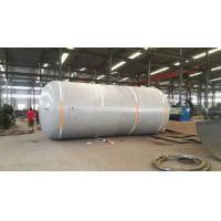 Cheap Carbon Steel Pressure Tank , Vertical Horizontal Type Liquid Storage Tank for sale