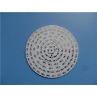 Buy cheap Single Sided Aluminum PCB 1.6mm With Hot Air Soldering and white soldermask from wholesalers
