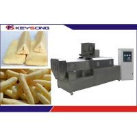 Buy cheap Corn Extruder Machine / Food Extrusion Equipment Auto - Temperature Controlling from wholesalers