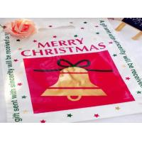 China Full Printing  LDPE/ HDPE Heat Seal Flat Printing Plastic Packaging Bags for Christmas Gift /Garment on sale