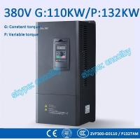 Cheap 110kw 132kw motor pump 50Hz/60Hz AC drive CNC Variable-Frequency Drive VFD AC-DC-AC Low Voltage frequency converter wholesale