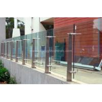 Cheap High Strength Security Toughened Glass Balustrades And Handrails for sale