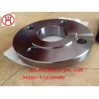 Cheap ASTM B564 UNS N04400  UNS N06600 nickel alloy forged slip -on SO  flange ASME B16.5 wholesale