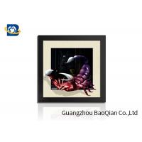 Cheap PVC / MDP Frame 3D 5D Pictures Different Animal Patterns Wall Decoration for sale