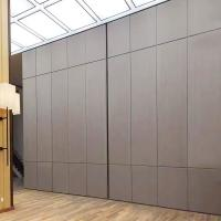 Buy cheap Movable Track Aluminium Profile Soundproof Office Floor to Ceiling Partition Wall from wholesalers