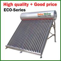 Quality Eco Friendly Swimming Pool Heat Pump , Heat Pipe Solar Water Heater wholesale