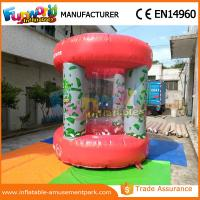 Cheap Advertisng Inflatable Money Machine / Inflatable Crash Cube for Promotion wholesale