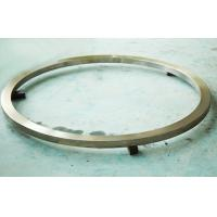 Cheap DIN High Tolerance Spur Gear Ring For Pivoting Support , 300mm Die Forging Parts for sale
