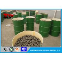 Cheap HRC 58-64 High Hardness B2 Hyper Steel Grinding Media Balls For Mining and Mine Mill wholesale