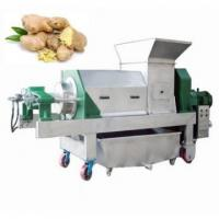 Cheap Big Capacity Ginger Juicing Machine shipping fee private company management team for sale