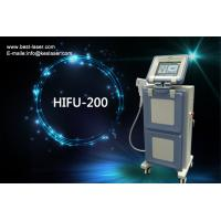 Cheap Blue + White Face Lifting Equipment Hifu High Intensity Focused Ultrasound Machine for sale