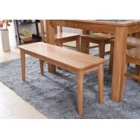 Cheap Modern Beech Hardwood Narraw Solid Wood Bench Eco -  Friendly For Restaurant for sale