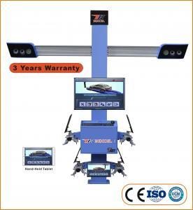 """Cheap ISO 9001 210"""" Wheelbase 11"""" Clamp 3D Wheel Aligner T75 for sale"""