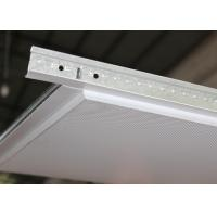 China Lay In Acoustic Ceiling Tiles Sheet installed with T Grid 600 x  600 on sale