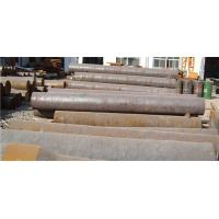 Cheap Diameter 200 - 800mm  Custom Solid Forged Round Bar For Shaft / Carbon Steel Hollow Bar ISO 9001 2008 for sale