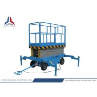 Cheap 8m Platform Height Mobile Hydraulic Scissor Lift Table from China Factory for sale
