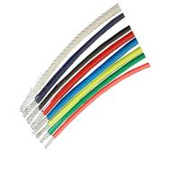 Quality high tensile strength strand 0.9-2mm pvc coated galvanized steel wire rope for wholesale