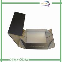Recyclable Coated Paper Foldable gift boxes with magnetic closure