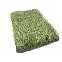 Cheap Olive Green Football Fake Grass Anti - Slip , Synthetic Grass For Soccer Fields for sale