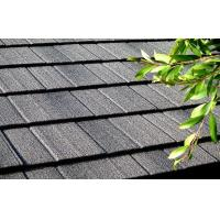 Flat Colorful Stone Chip Coated Steel Roof Tiles Steel Roof Shingles