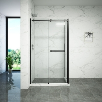 Buy cheap Thickness 6mm Clear Sliding Glass Shower Doors For Hotels from wholesalers