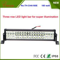 """Cheap Three Rows High Quality 180W 25"""" 60*3w Epistar LED Offroad LED Light Bar for SUV, 4X4, UTV for sale"""