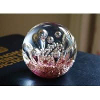 China Wedding Gift Centerpiece Fantasy Bowl 15MM Glass Bubble Ball on sale
