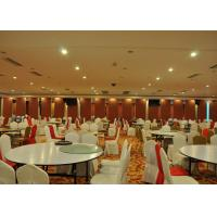 Cheap Folding Partition Walls , Acoustic Movable Partition For Banquet Wedding Facility for sale