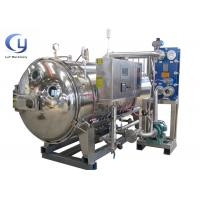 Cheap High Temperature Food Sterilizer Machine Autoclave Food Processing 3 Phase 50Hz for sale